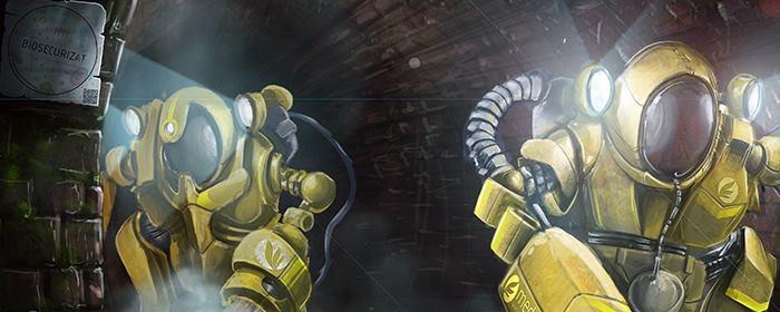 robotii biosecurizat